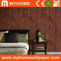 3d textured wood veneer kitchen vinyl wallpaper