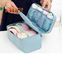 Wholesale Customized Durable Hanging Luggage Travel Clothes Bra Storage Bag Cosmetic Organizer Storage Bag