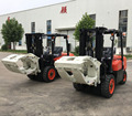 Discount price 3 ton forklift with paper roll clamp for sale