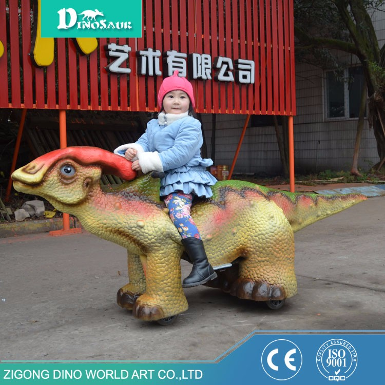 Hot Sale Cartoon Life Like Walking Dinosaur Ride