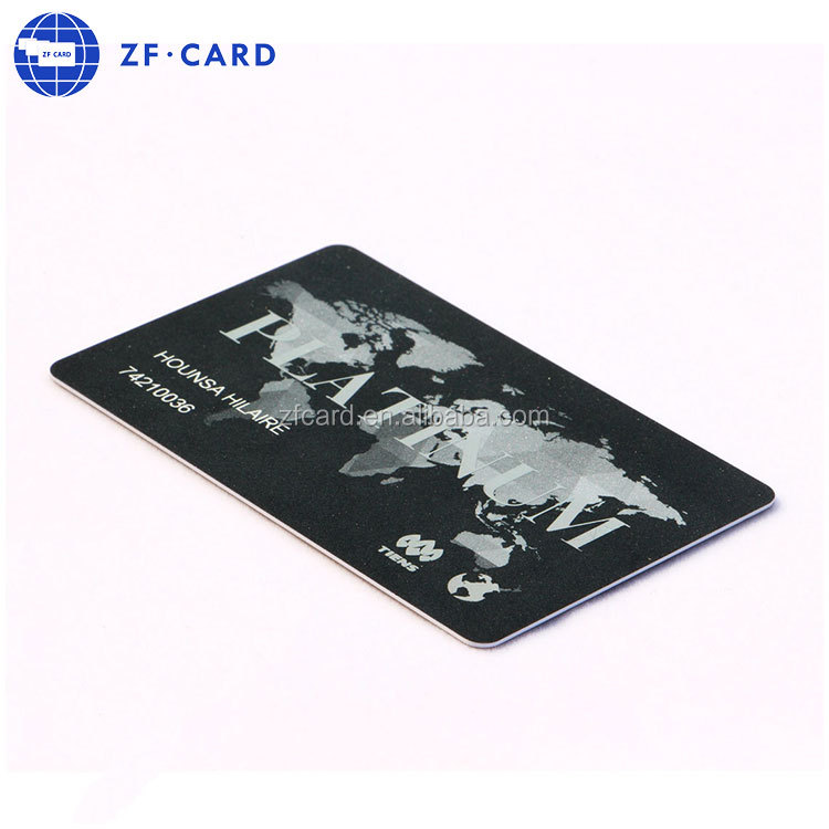 Offset printing high quality PVC restaurant vip card