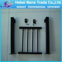 Black color Spear Top Tubular Hercules Steel Security Fence in Garden,Home,Factory