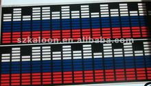 russion flag sound active el car sticker