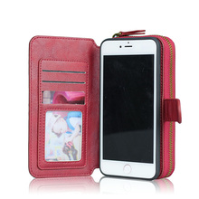 New design phone cover Wallet for iphone 6s leather case,mobile phone accessories