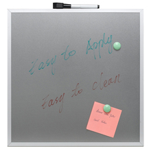Customized magnetic glass whiteboard
