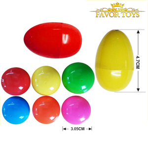 Wholesale plastic surprise egg toy for candy and different toys