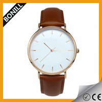 2015 quartz watch bezel japan movt,Big dail custom watch face,classic watch men
