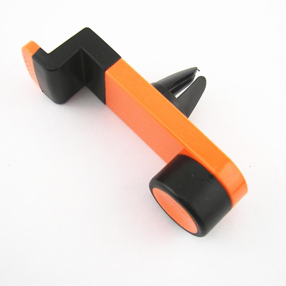 Orange Scalable Air Conditioner Vent Bracket Mobile Phone iPhone Holder