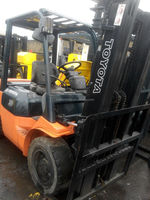 7f toyota forklift 3t used forklift for sale