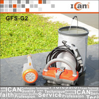 12V DC Portable Car Washer with long brush