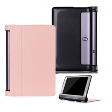 leather cover case for Lenovo Yoga Tab 3 Plus 10 YT-X703F Tablet Cover 10.1 inch Solid Stand Flip Folio
