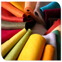 hot sale and colorful of 5mm thick 100% wool felt