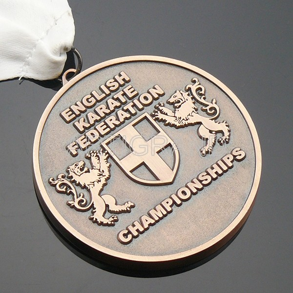 English karate federation medal