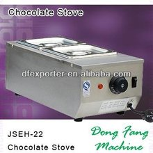Largest chocolate heater suppliers, DFEH-22 chocolate stove snacks making machinery