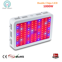 double chips 1000W Full Spectrum Hydro LED Grow Light for Medical Plants Veg and Bloom Fruit