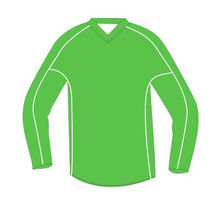 very new style customized design long sleeve soccer jersey, football shirt, drt-fit fabric, cool-dry material