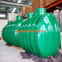 FRP septic-tank production line GRP winding machine