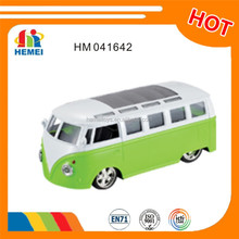 Diecast bus Toy mini Shool bus con luz y sonido