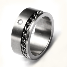 titanium ring flexible jewelry with wire