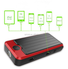 Best Selling emergency car portable battery jump starter with Multi function for charge digital device