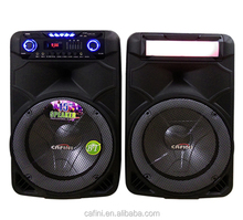 Professional power dj speakers dual 15 inch concert stage speaker
