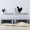 ZOOYOO black quotation wall decal wall decal happy dream wallpapers sticker design(ZY8136)