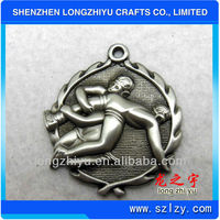 2014 decorative coin medals custom plating gold metal coin for souvenir with gift box hot!!