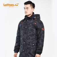 waterproof winter tech men camo jacket 2017