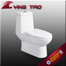 Floor mounted p-trap s-trap chinese siphonic one piece wc toilet