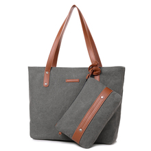 OEM High Quality Canvas Shopping Tote bags Handbag for women