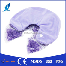CE factory price gel bead hot cold pack chest hot cold patch for pain relief or hot compress