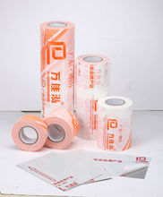 PE LOGO printing plastic film for car protection, staniless steel, plastic sheet