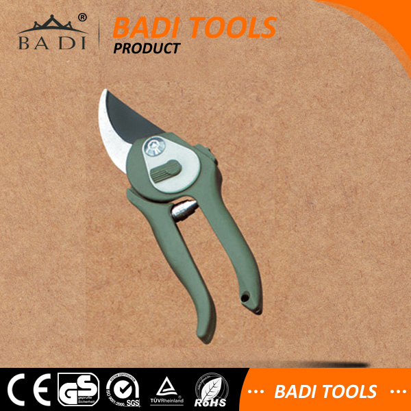 soft touch grape scissors pruning shears/anvil cutter pruner/bypass secateur