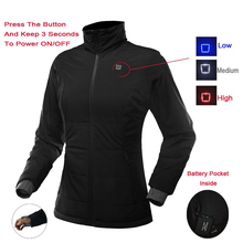 Best Polyester Far Infrared Battery Heated Jacket Electrical Clothes Warmer