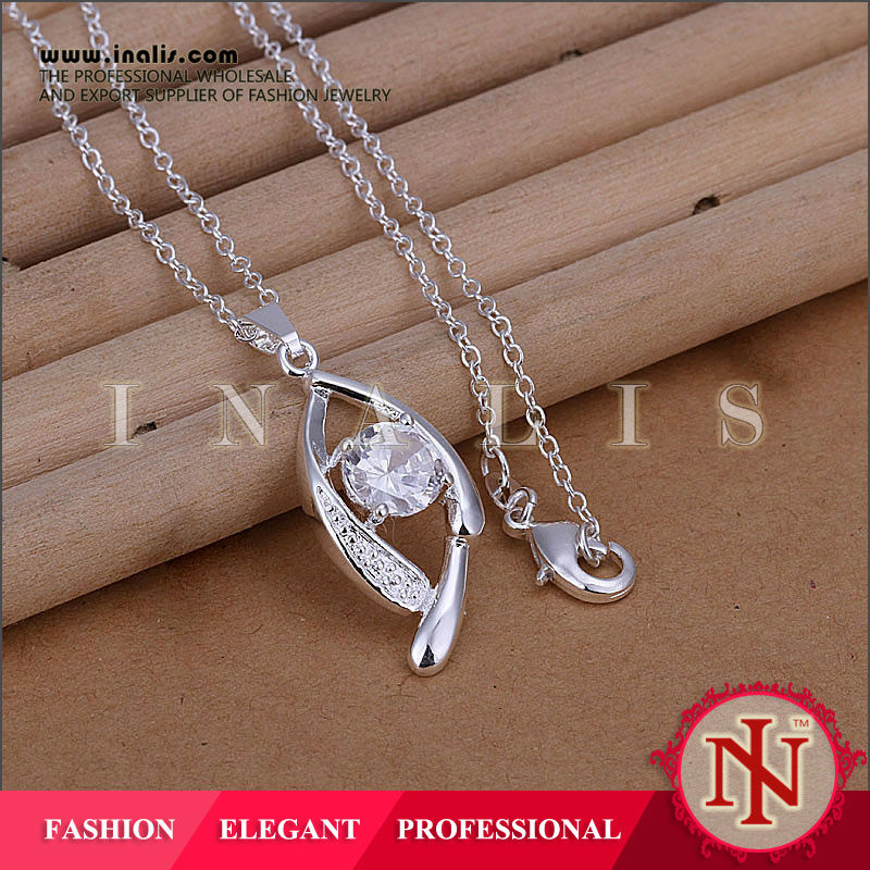 Halloween gift for girls silver evil eye pendant LKNSPCP267