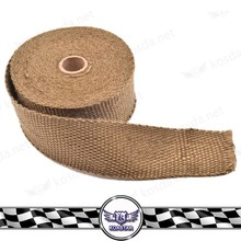 Universal Heat resistant exhaust wrap , Titanium Exhaust Insulating wrap