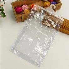 Hanging Travel Toiletry PVC Bag Transparent Clear Cosmetics Makeup Jewelry Organizer Storage Bag