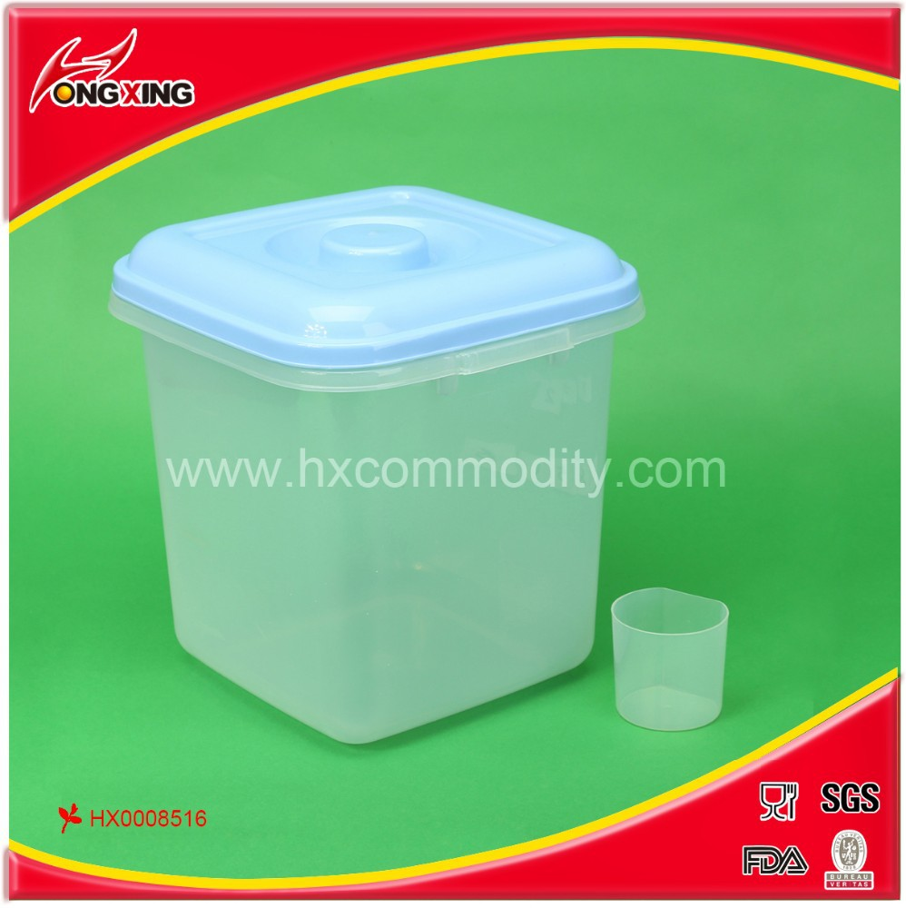 packaging rice box 10kg pp rice storage container