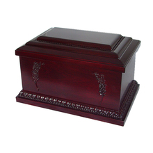 Practical wooden antique box funeral urns for ashes