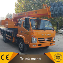 Stick Boom Crane on Durable BMC/T-King/Dongfeng Trucks