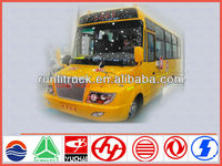 Bus manufacture for new model 7.7m 40seater remote control school bus ,passenger bus sale