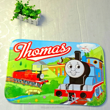 Thomas Train Cartoon Design Printed Mat,Washable Floor Mat