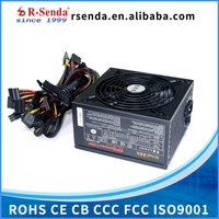 Computer Power Supply PSU with 80 PLUS for 24Pin 12cm fan for LED OEM order is welcome