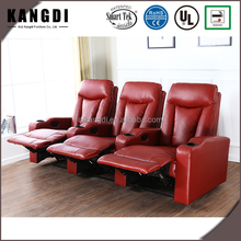 KTH7063 Modern style home furniture lazy boy red leather recliner sofa