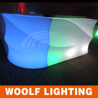 LED bar table LED model unique bar table furniture for sales