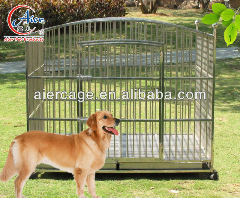 Good service heavy duty dog crate outdoor