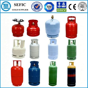 lpg gas cylinder prices empty low pressure high pressure 2016 TUV