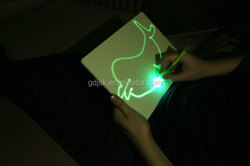 The Luminescent Drawing Board