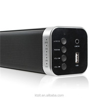 Hot Sales Sound Bar Wireless Bluetooth Speaker Hi-fi Music used for media player/computer/TV