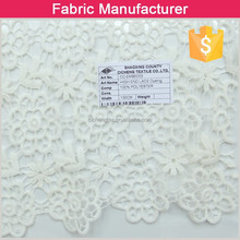 hot sale african lace fabric water-soluble embroidery fabric embroidery tablecloth fabric